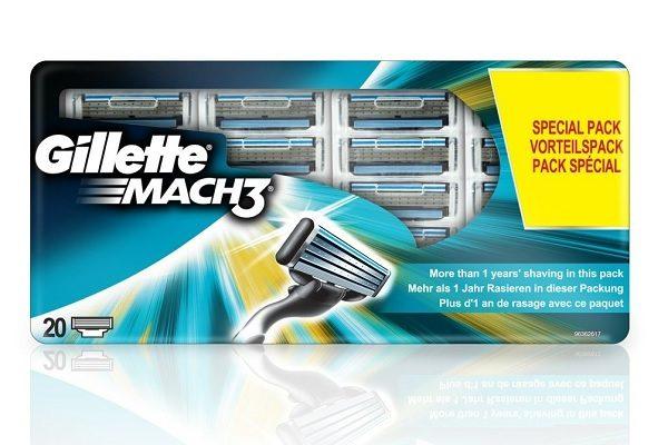 Gillette Mach 3 Klingen