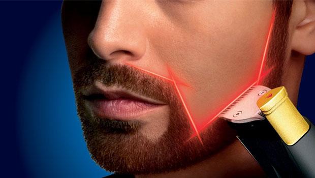 Bartschneiden mit Laser