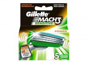Gillette Mach3 Sensitive Power Klingen
