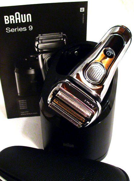 Braun Series 9 9296cc mit reinigungsstation